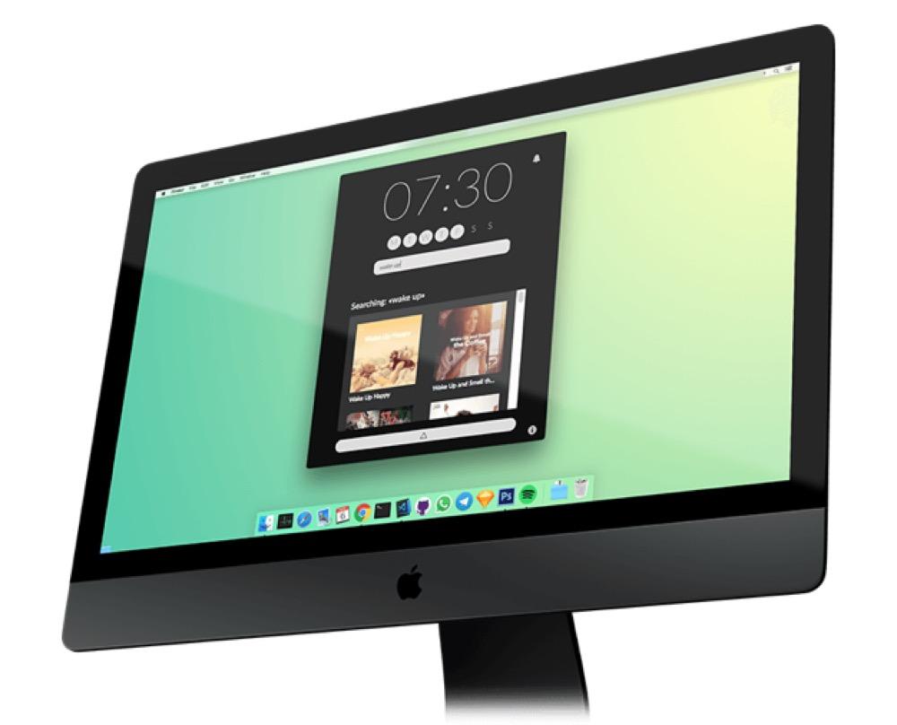 Wecker Macbook