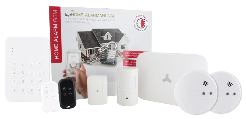 tapHOME Alarm GSM 1