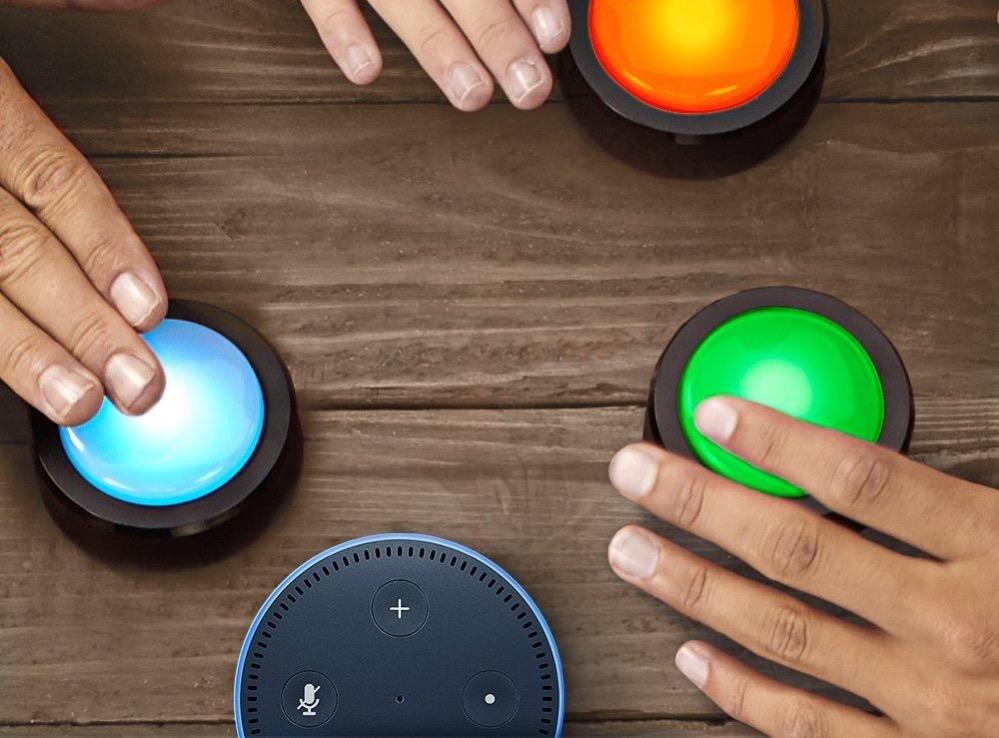 Amazon Echo Button farbig