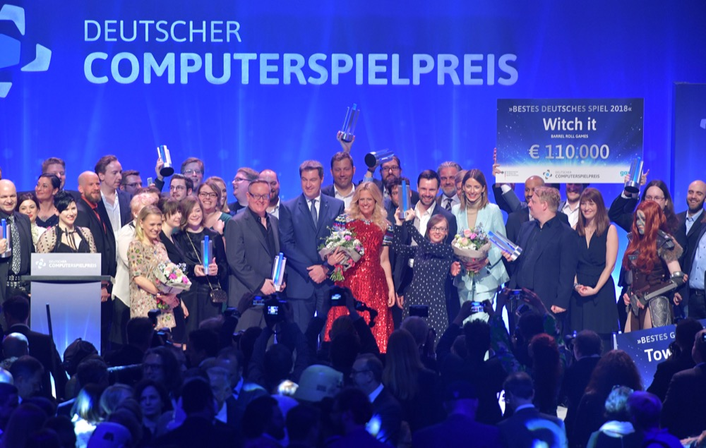 Gewinner Deutscher Computerspielpreis 2018Getty Images/Hannes Magerstaedt
