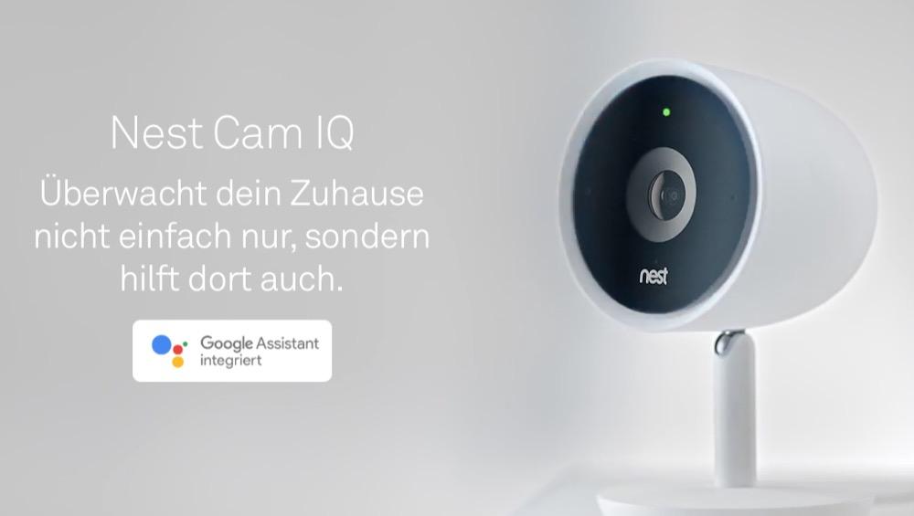 Nest Cam IQ Google Assistant