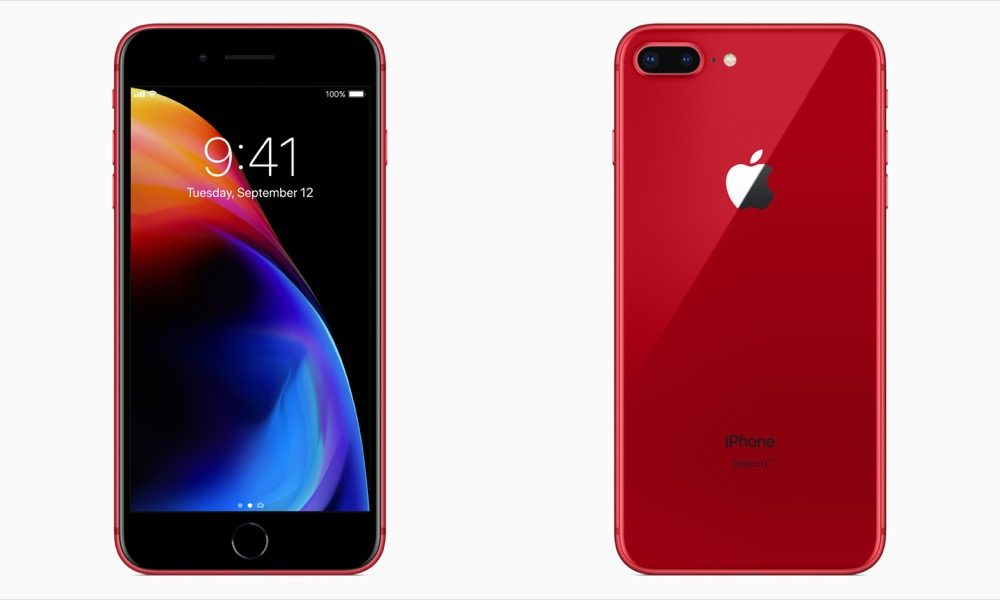 iphone 8 rot