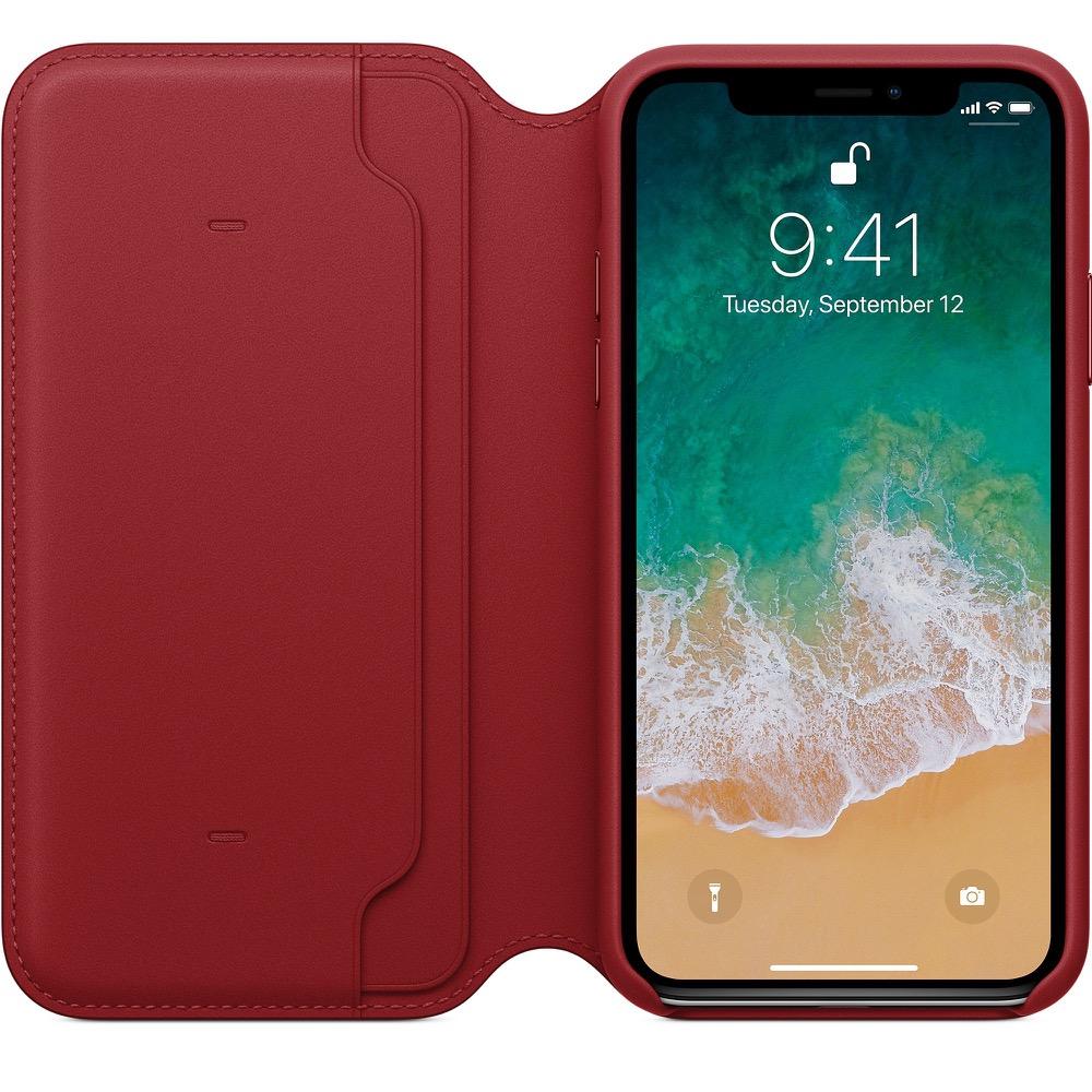 iphone x folio rot