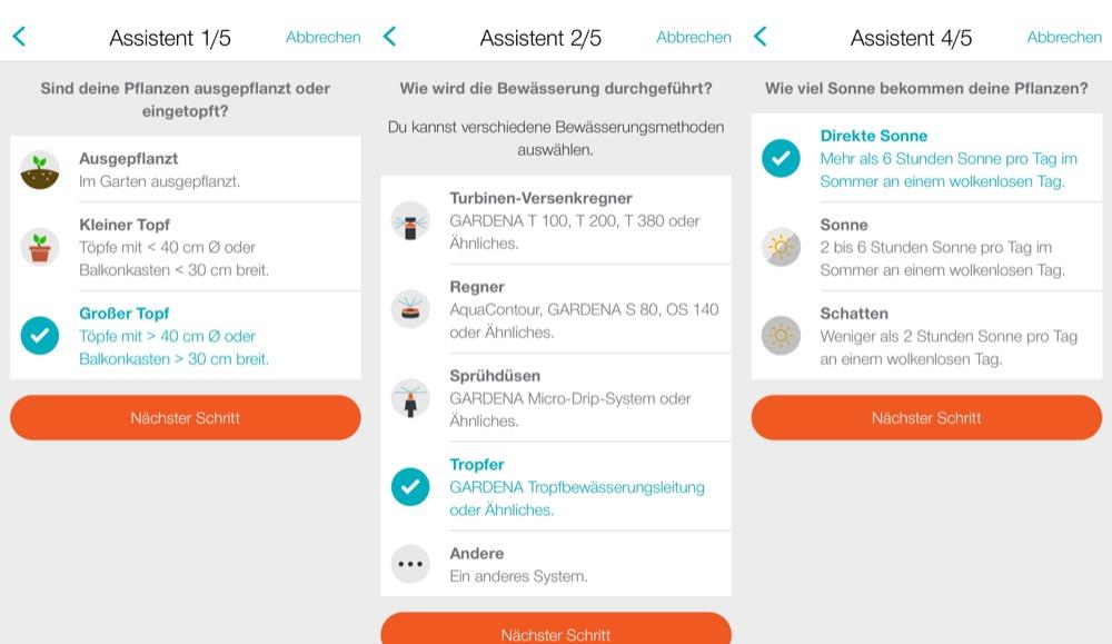 Gardena Smart App Einrichtung