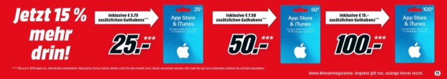 MediaMarkt iTunes