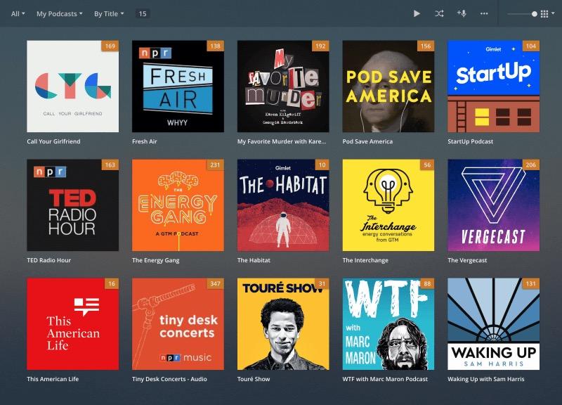 Plex Podcasts 1