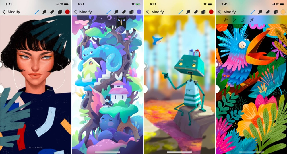 Procreate Pocket design