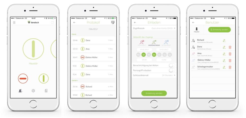 danalock v3 app
