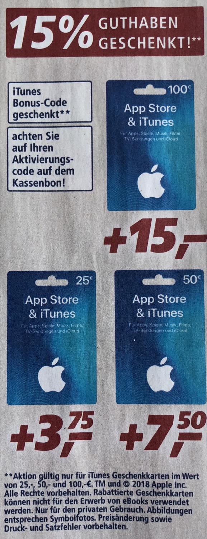 iTunes Angebot
