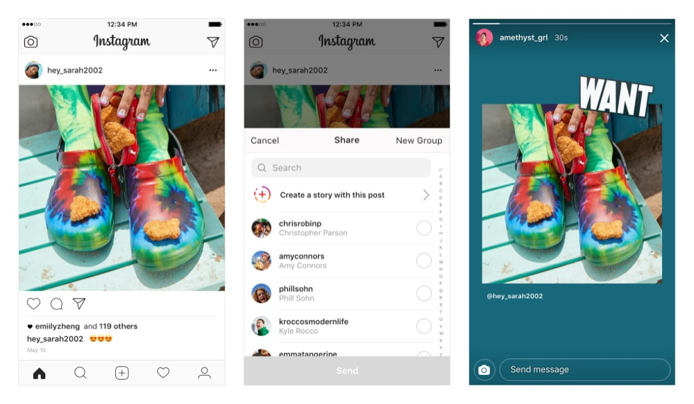 instagram feed-to-stories