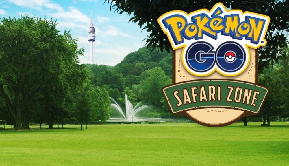 pokemon go safari dortmund