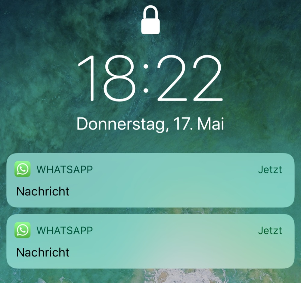 Whatsapp nachricht kommt nicht an trotz online
