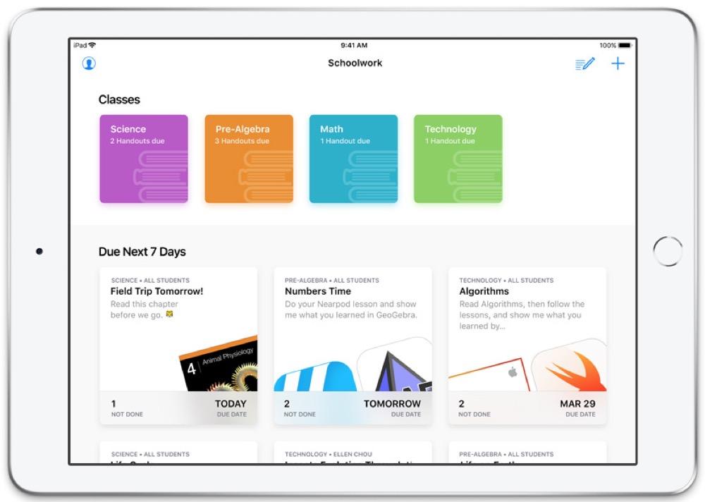 Apple Schoolwork 1