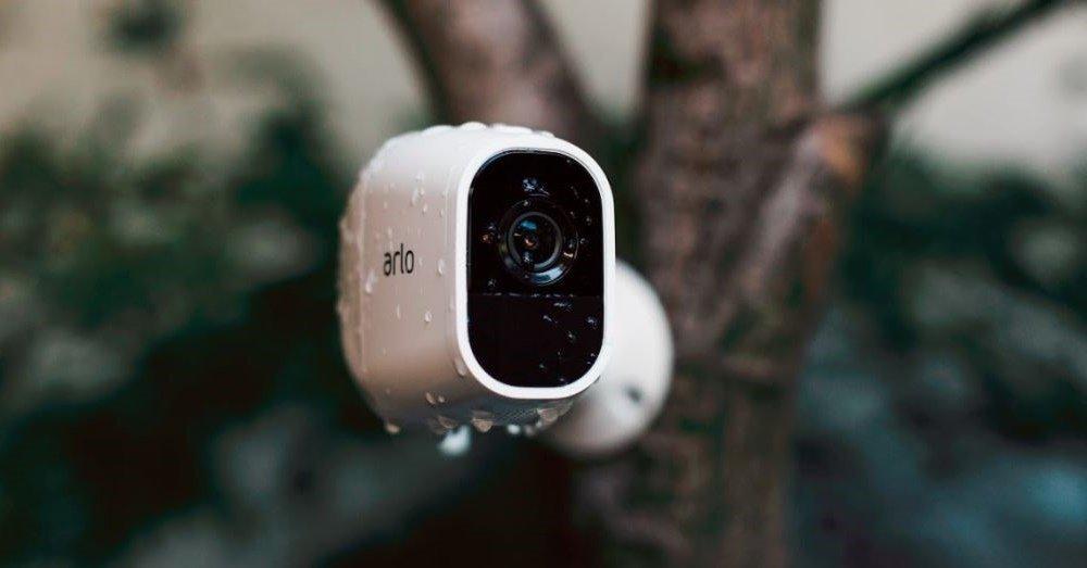 Arlo Pro 2 Kamera im Regen