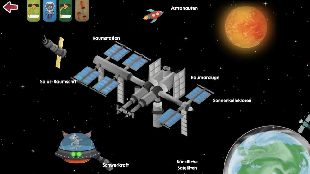 Was ist im Weltraum 2