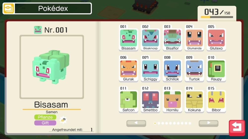 pokemon quest pokedex