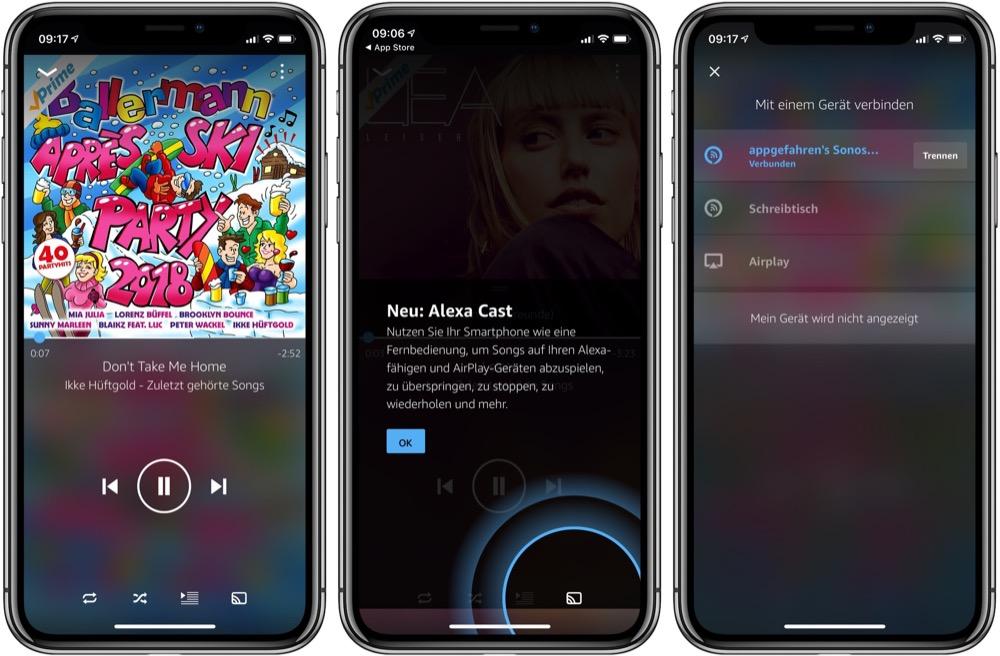 Alexa Cast Amazon Music