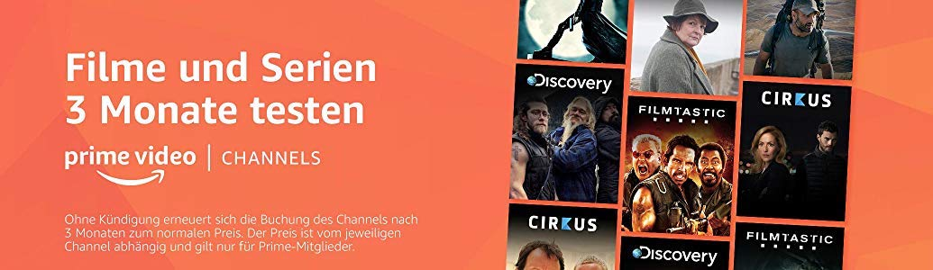 Amazon Channels Banner