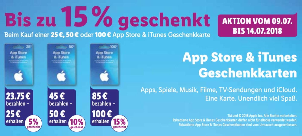 Lidl iTunes