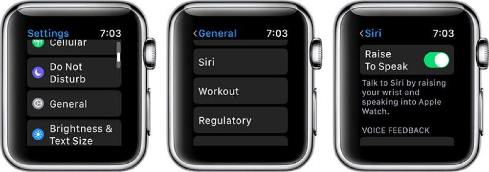watchOS 5 Siri