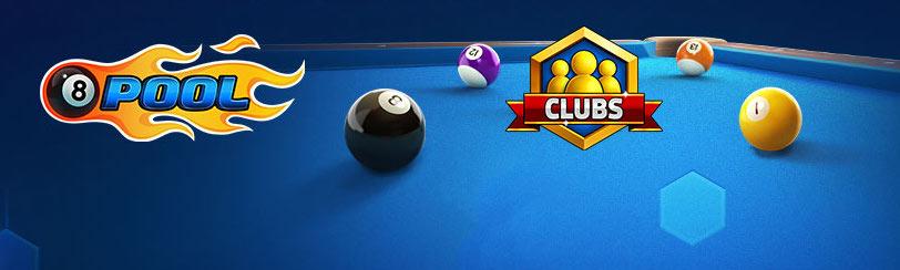 8 ball pool clubs