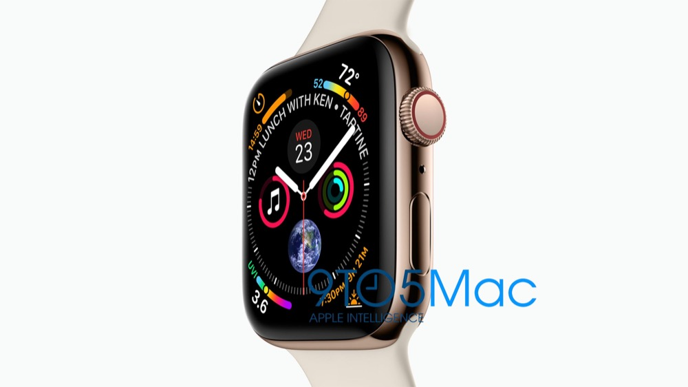 Apple Watch Series 4 Leak