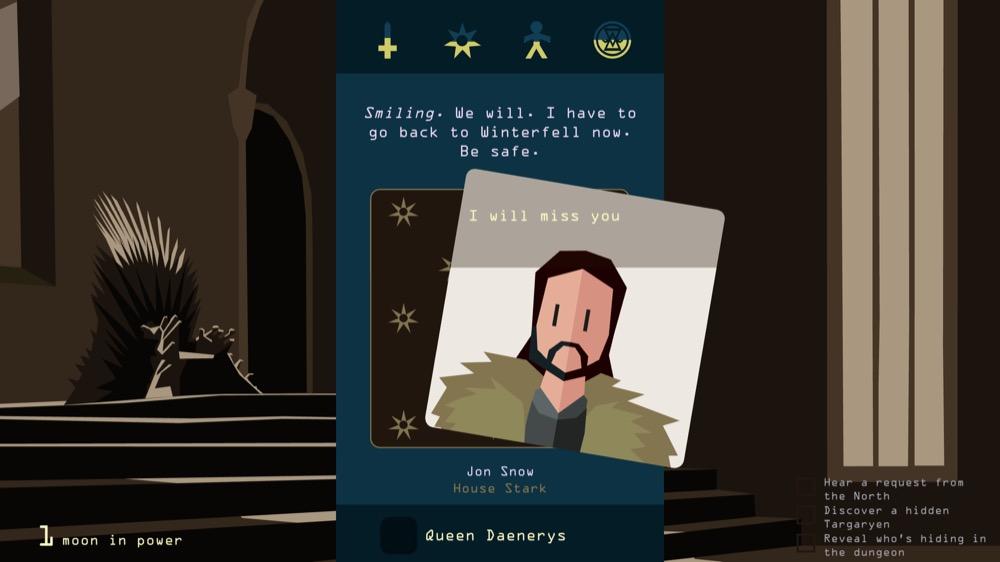 Reigns_GameOfThrones - Screen 2
