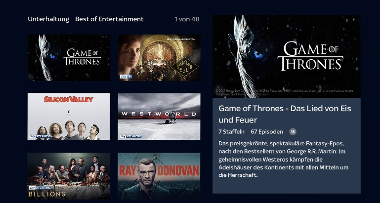 sky ticket apple tv