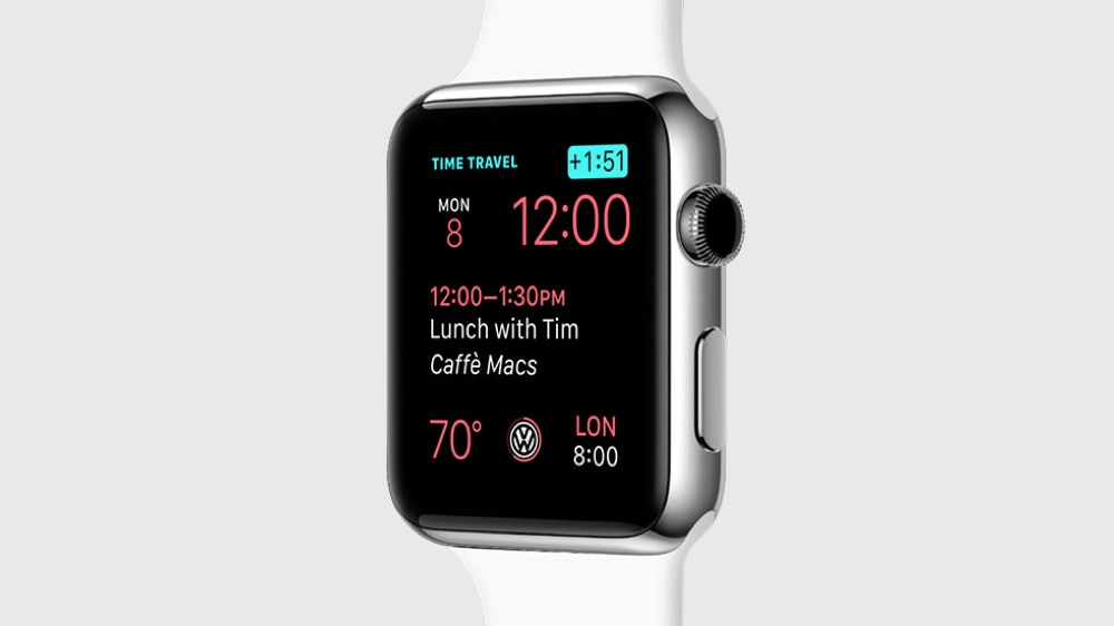 watchOS Time Travel