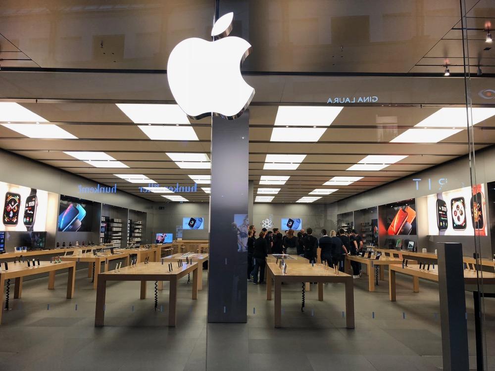 Apple Store Verkaufsstart 3