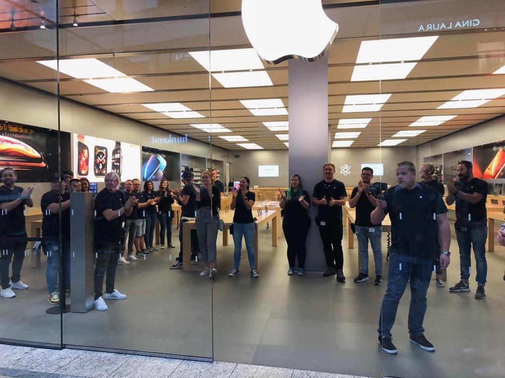 Apple Store Verkaufsstart 5