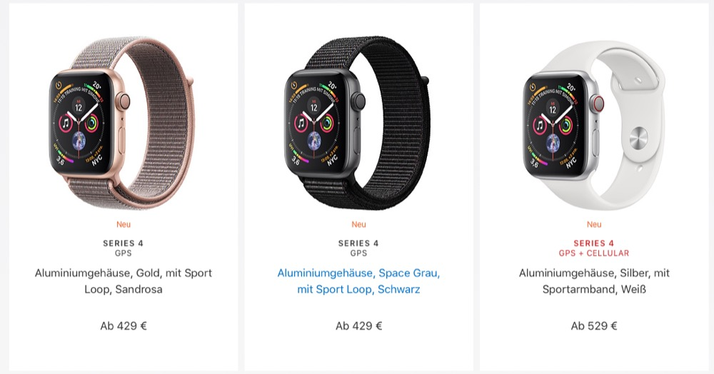 Apple Watch Series 4 Store