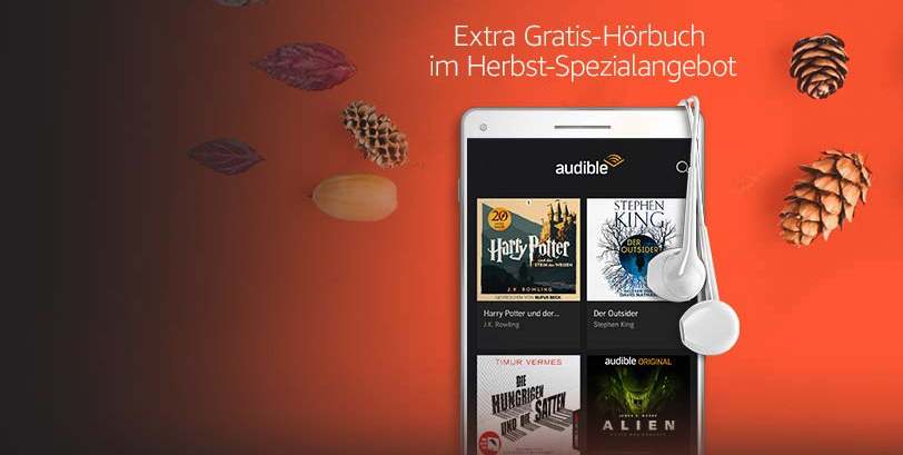 Audible Herbst Angebot