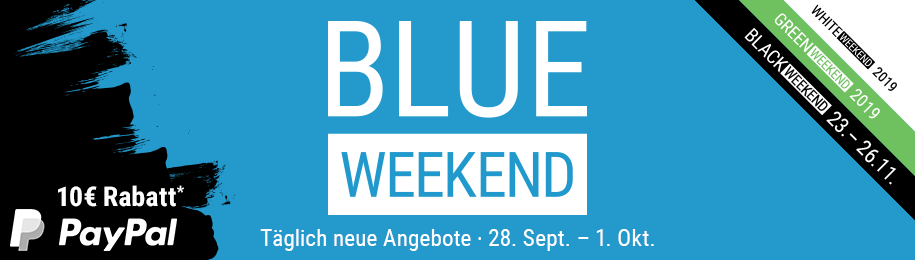 Cyberport Blue Weekend