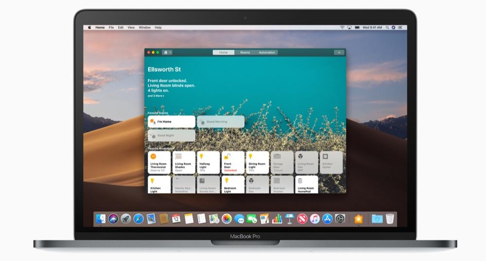 MacBook Mojave Home
