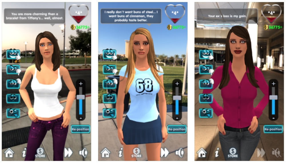 My Virtual Girlfriend AR