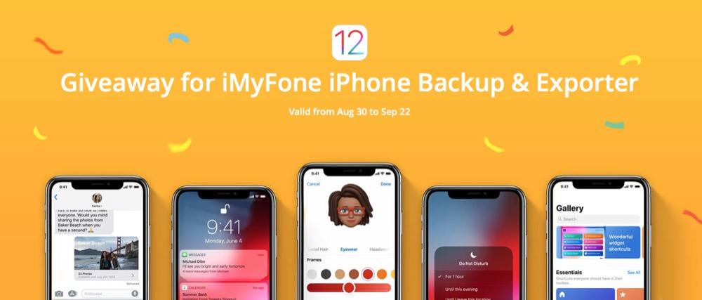 iMyFone D-Port raffle