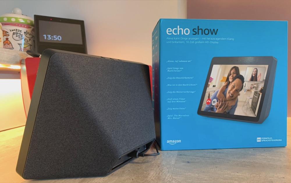 Amazon Echo Show Verpackung