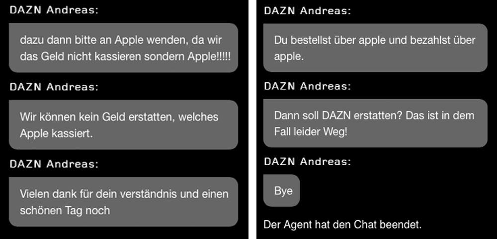 DAZN Chat