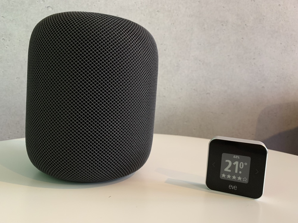 Eve Room HomePod