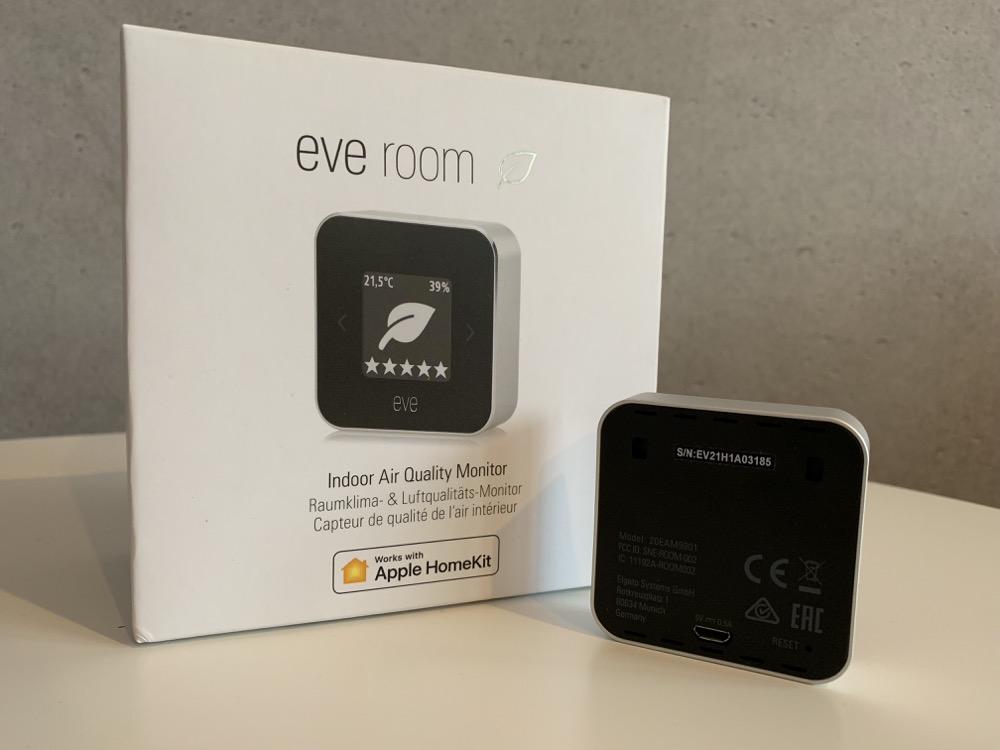 Eve Room Verpackung
