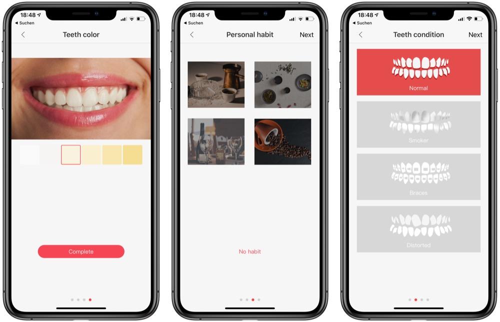 Oclean Air iphone app