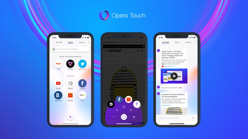 Opera Touch 2