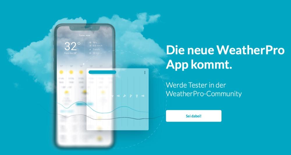WeatherPro Test
