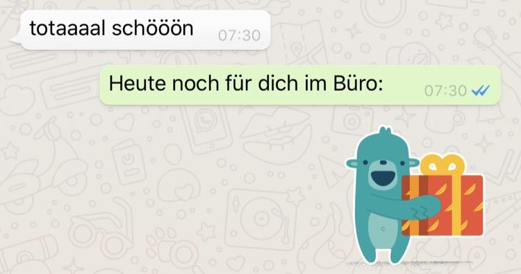 WhatsApp Messenger Sticker
