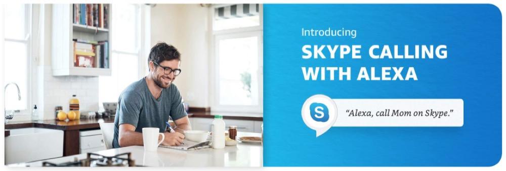 Amazon Alexa Skype 1