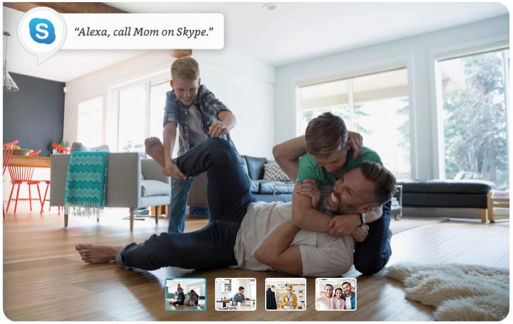 Amazon Alexa Skype 2