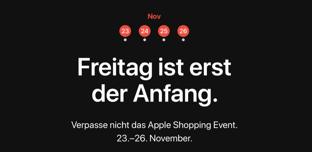 Apple Black Friday Cyber Monday