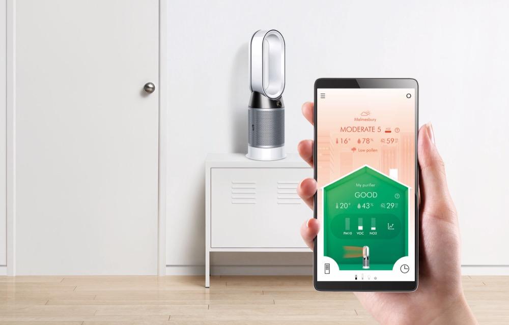 Dyson Pure Hot_Cool Luftreiniger App