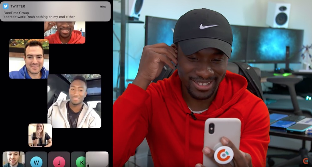 FaceTime Gruppenchat YouTube